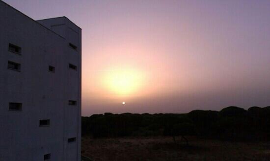 Apartamentos Leo Deluxe: puesta de sol