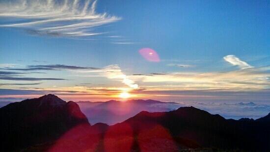 Mt.Senjogadake: 御来光