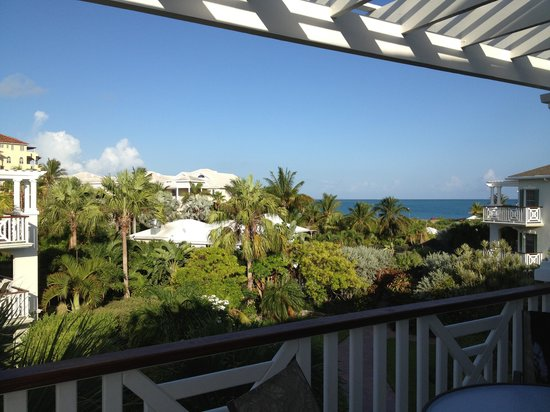 Royal West Indies Resort: Ocean view from balcony, building 5
