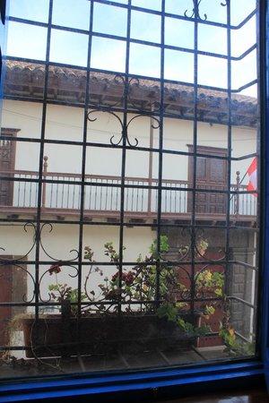 Royal Inka I: vue de la fenêtre