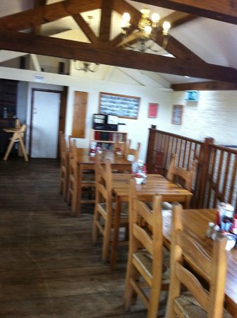 The Stables Cafe: Upstairs seating area