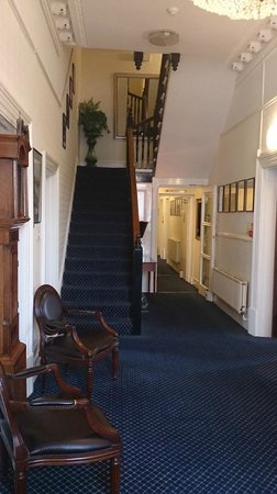 The Devonshire Park Hotel Eastbourne: This is what you will see when yo uenter the hotel..