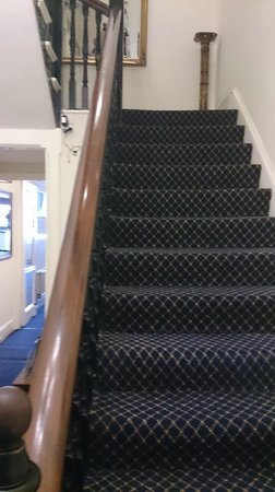 The Devonshire Park Hotel Eastbourne: stairs..leading to...where?=)