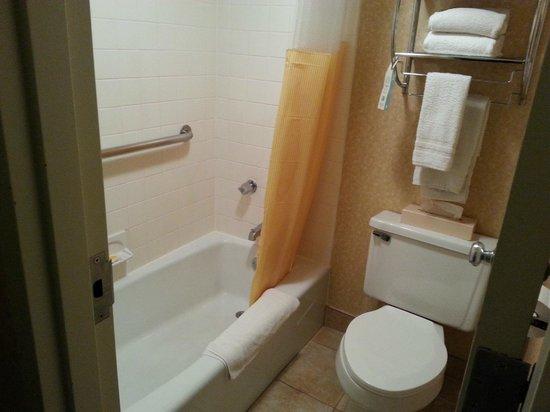 Days Inn & Suites Plattsburgh: Salle de bain