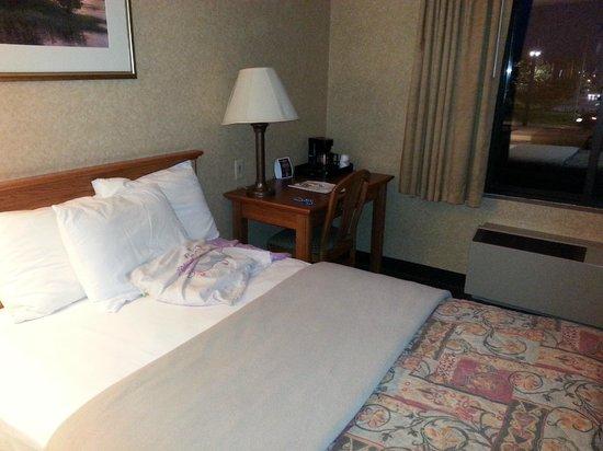 Days Inn & Suites Plattsburgh : Chambre à 2 lits Queen