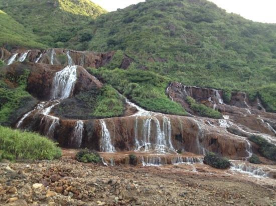 Golden Waterfall : 黃金瀑布