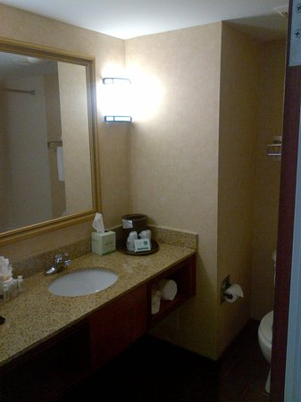 Holiday Inn Norton: Vanity