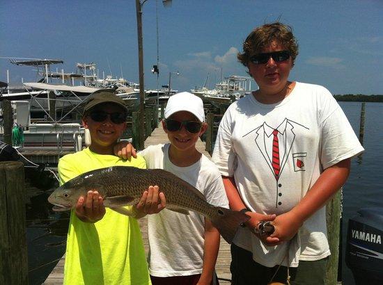 Gone Fishing Charters: 3 of my grandkids