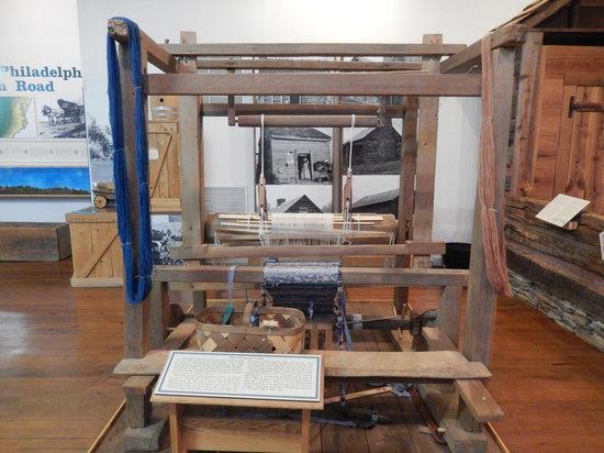 Mount Airy Museum of Regional History : The Barnyard Loom
