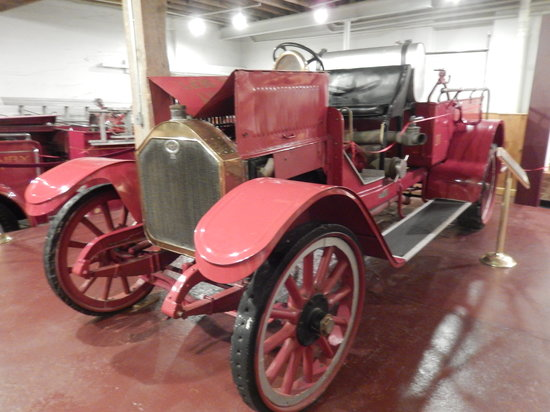 Mount Airy Museum of Regional History : One of the old fire trucks