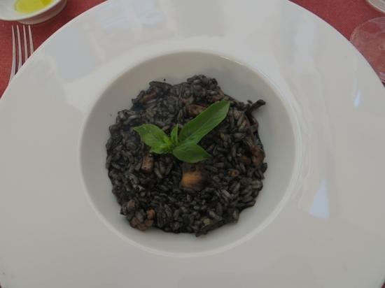 La Grisa: black risotto