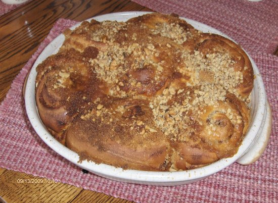 Beach House Salt Spring : We are well known for our cinnamon buns -many return guests make a special request.