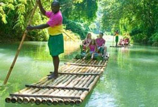 Antsman Tour Jamaica: Rafting In Jamaica