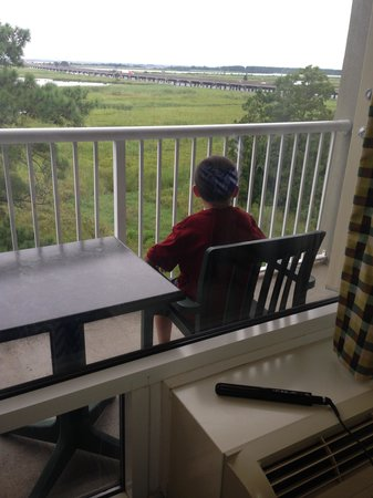 Hampton Inn Mobile-East Bay/Daphne: Son did not want to come in.