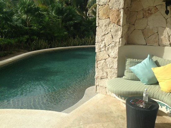 Secrets Maroma Beach Riviera Cancun: Our Swim up suite