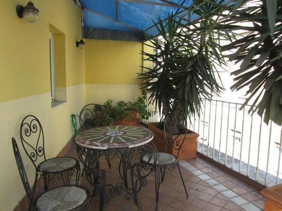 Hotel Cinquantatre: The terrace