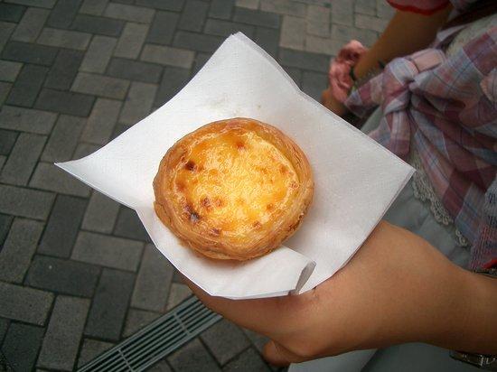 Andrew's Eggtart, Dotombori Honten: エッグタルト210円