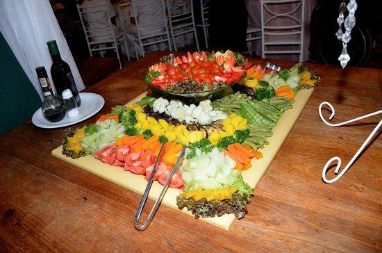 Restaurante Donana: Salada