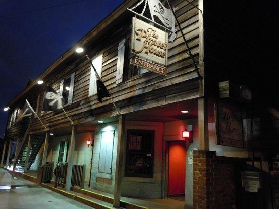 Menu Picture Of The Pirates House Savannah Tripadvisor