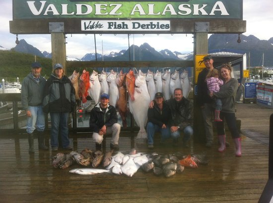 Alaskan Adventures Unlimited: Boat Load