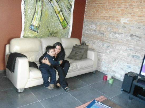 Posada Las Terrazas: Con Beatriz