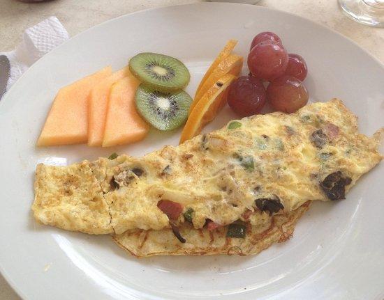 Club Arias B&B: Breakfast omelette