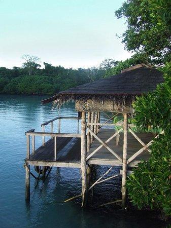 Lusia's Lagoon Chalets: Spa area