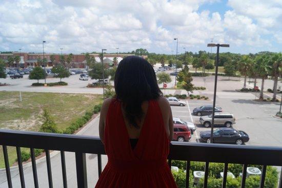 Courtyard Jacksonville I-295/East Beltway: room 302 balcony