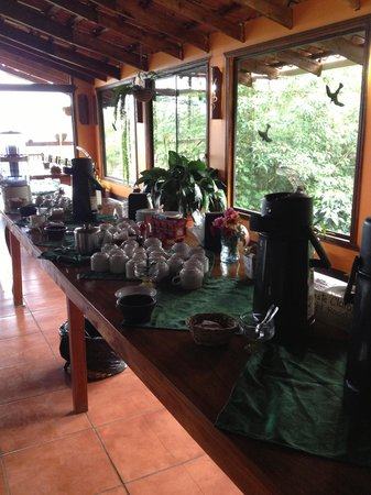 Cafe Monteverde Coffee Tour: Coffee Tasting Room