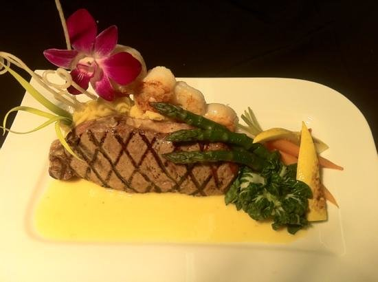 Delicious Steakhouse : Steak Oscar