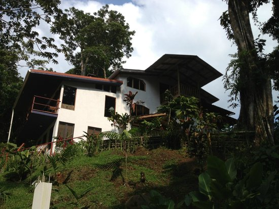 Agua Inn: view of property from river