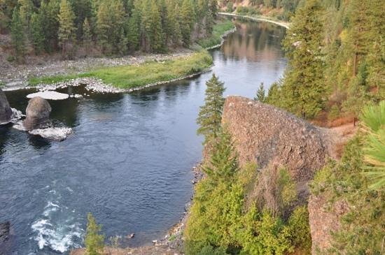 Riverside State Park: Spokane River