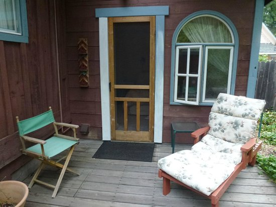 Ada's Place: porch off bedroom
