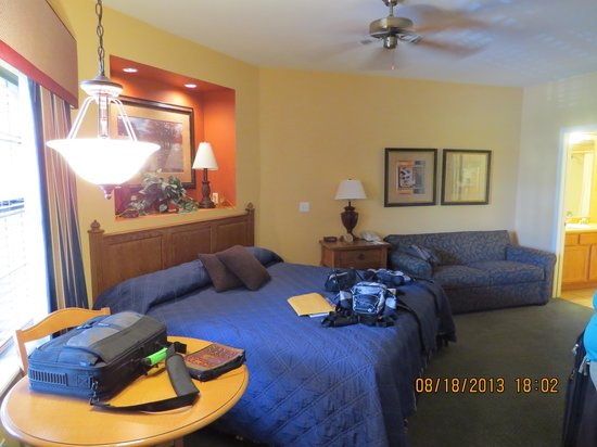 Falls Village Resort: studio bedroom