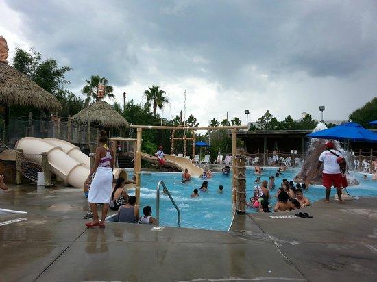 Liki Tiki Village : Parc aquatique de l'hôtel