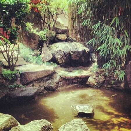 Liberty Square: Jardim japones