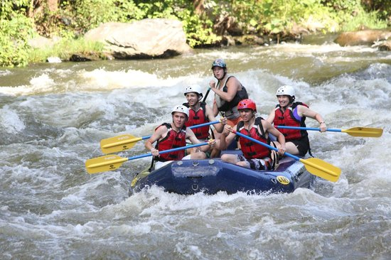 Big Creek Expeditions: On the river
