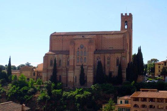 Campo Regio Relais: View from Terrace of Basilica Domenico