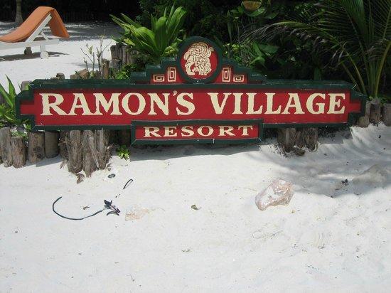 Ramon's Village Resort: sign