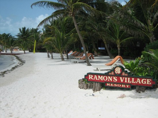 Ramon's Village Resort: hotel from beach