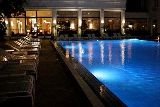 Belmond Copacabana Palace: The historic pool.