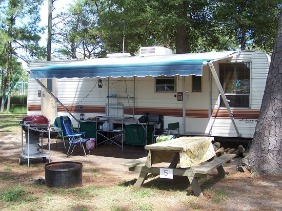 Cherrystone Family Camping Resort: Our little campsite