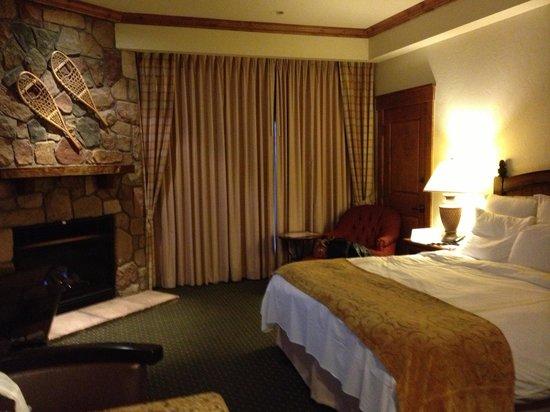 Vail Marriott Mountain Resort: Deluxe king room