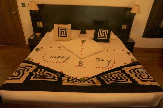 Weligama Bay Resort: Room with beautiful setting