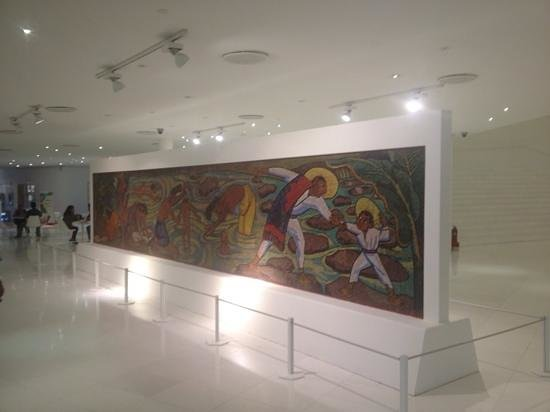 Rufino tamayo picture of museo soumaya mexico city for Mural de rivera