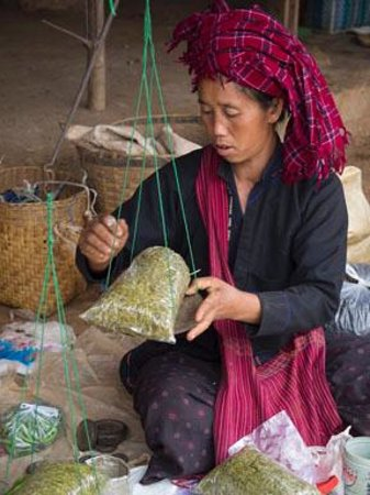 Indochina Pioneer: Hill Tribe Market on shores of Inle Lake