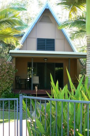 Canopy Chalets one of the A frame units & one of the A frame units - Picture of Canopy Chalets Magnetic ...