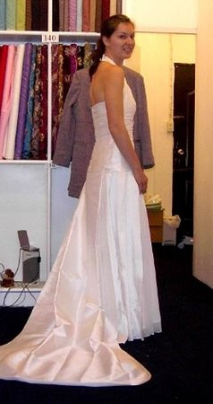 Genesis International Tailors Thai Silk Wedding Dress