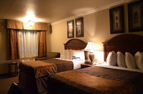 BEST WESTERN Inn of McAlester: Bedroom view 2