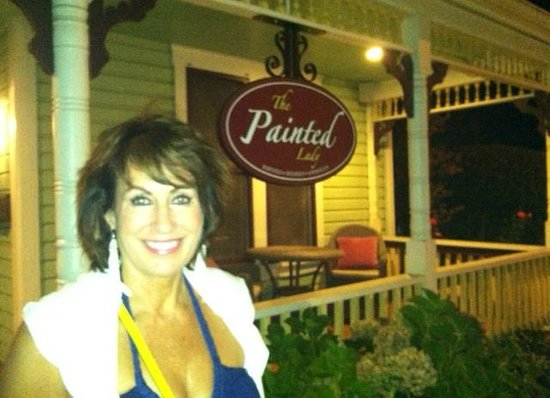 Outside The Painted Lady, Newberg, OR